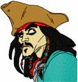 Jack Sparrow  embroidery design