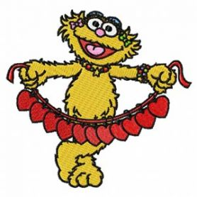 Sesame Street 1 machine embroidery design