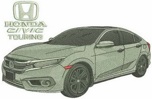 Honda Civic Touring car