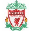 Liverpool Football Club logo embroidery design