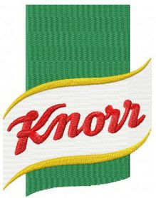 Knorr machine embroidery design
