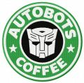 Autobots coffee embroidery design