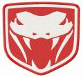Dodge Viper Fangs embroidery design