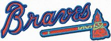 Braves Wordmark Logo