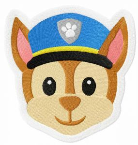 Chase Face Paw Patrol