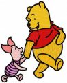 Winnie the Pooh and Piglet best friends 2
