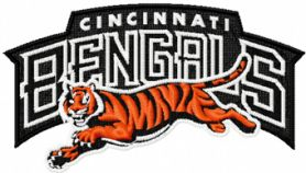 Cincinnati Bengals Logo machine embroidery design