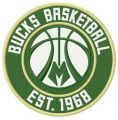 Milwaukee Bucks logo embroidery design