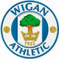 Wigan Athletic logo embroidery design