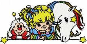 Rainbow Brite, OJ and Starlite