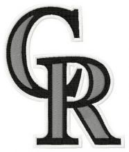 Colorado Rockies cap insignia