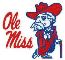 Ole Miss Rebels logo 3