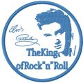 Elvis Presley The king of Rock and Roll embroidery design