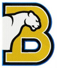 Birmingham-Southern Panthers primary logo