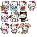 Hello Kitty Pack 1 - 22 Files embroidery design