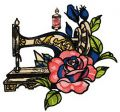 Old sewing machine 5 embroidery design