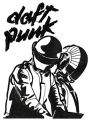 Daft punk embroidery design