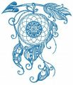 Dreamcatcher 15 embroidery design