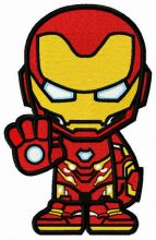 Iron-willed Iron Man