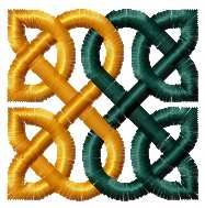 Celtic pattern free embroidery design