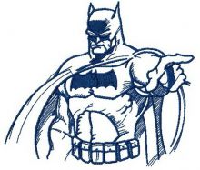 Batman sketch 2