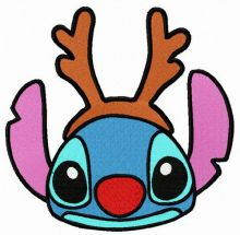Stitch with deer horns