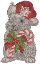 Rabbit meets Christmas