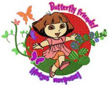 Dora butterfly friends