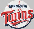Minnesota Twins logo embroidery design