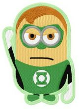 Minion in Green Lantern costume