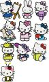Hello Kitty Pack 2 - 20 Files embroidery design