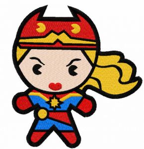 Chibi Captain Marvel