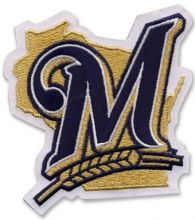 Milwaukee Brewers patch logo