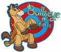 Bullseye the horse embroidery design