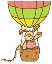 Bunny the balloonist
