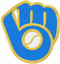 Milwaukee Brewers Partial Logo