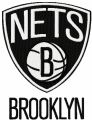 Brooklyn Nets logo embroidery design