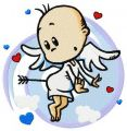 Baby cupid 2 embroidery design