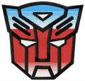 Transformers logo 2 embroidery design