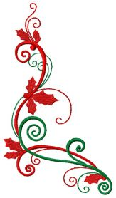 Christmas decoration 5 machine embroidery design