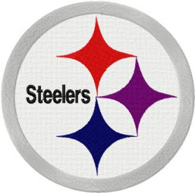 Pittsburgh Steelers logo machine embroidery design