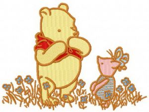 Winnie Pooh and Piglet classic 2