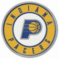 Indiana Pacers logo embroidery design