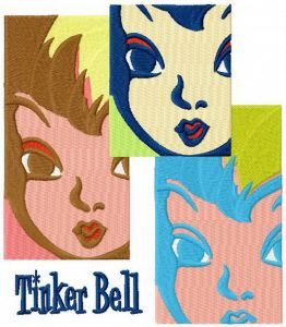 Tinker Bell collage