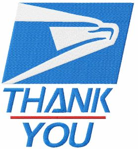 Thank You Essential Workers Delivery USPS Mail