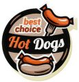 Best choise hot dogs embroidery design