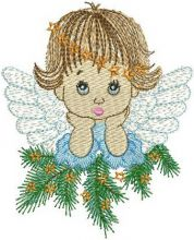 Thoughtful Christmas Angel