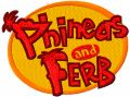 Phineas and Ferb Logo embroidery design
