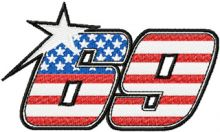 Nicky Hayden Kentucky Kid MotoGP #69 logo