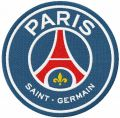Paris Saint-Germain logo 2020 embroidery design